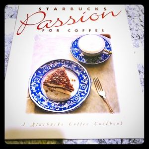 Other - ☕️ Vintage Starbucks Coffee Cookbook